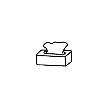 ボックスティッシュのアイコンのアイキャッチ用画像