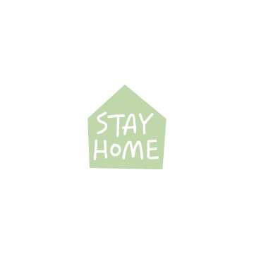 STAY HOMEのアイコンのアイキャッチ用画像