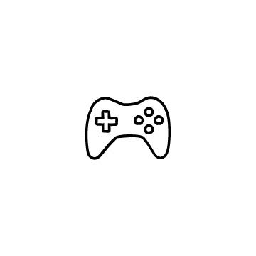 ゲームコントローラーのアイコンのアイキャッチ用画像