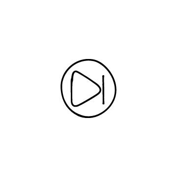 丸い進むボタンのアイコンのアイキャッチ用画像