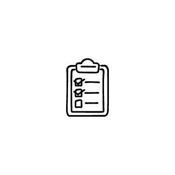 チェックボックスのあるクリップボードのアイコンのアイキャッチ用画像