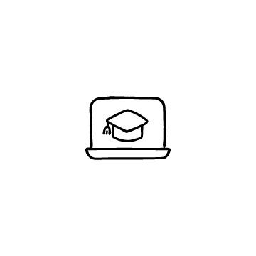 ノートパソコンのアイコンのアイキャッチ用画像