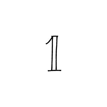 数字の1のアイコンのアイキャッチ用画像