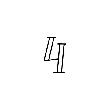 数字の4のアイコン