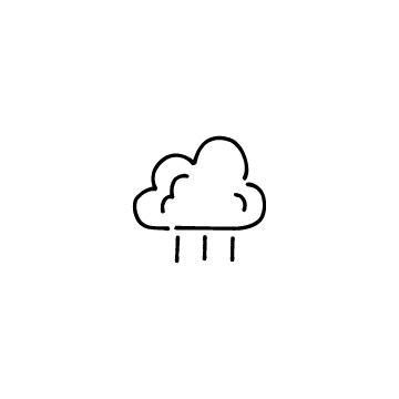 雨のアイコンのアイキャッチ用画像