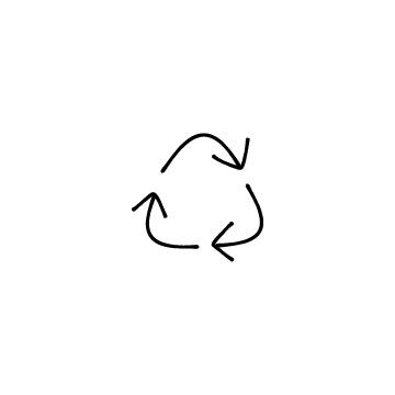 リサイクルマークのアイコン1