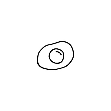 目玉焼きのアイコンのアイキャッチ用画像