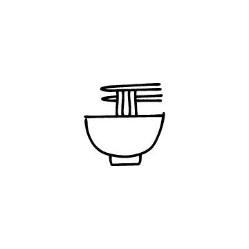 ラーメンのアイコンのアイキャッチ用画像