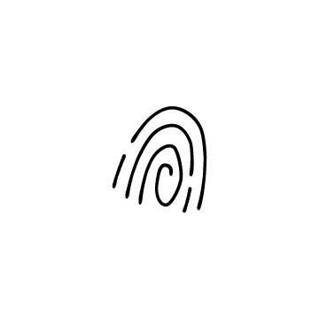 指紋のアイコンのアイキャッチ用画像