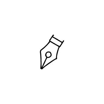 ペン・万年筆のアイコン