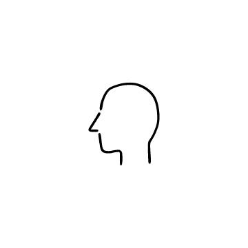 横向きの人の頭のアイコンのアイキャッチ用画像
