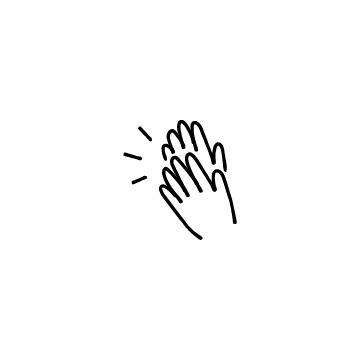 拍手のアイコン