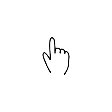 指差しのアイコン
