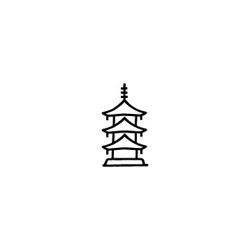三重の塔のアイコン