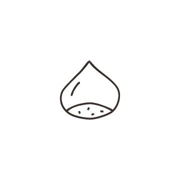 栗のアイコンのアイキャッチ用画像