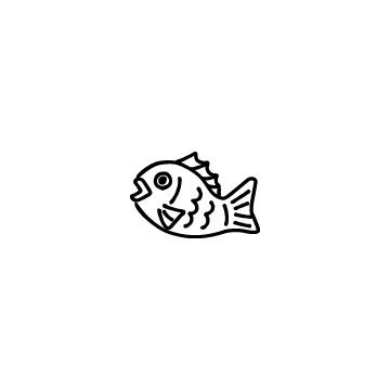 鯛のアイコンのアイキャッチ用画像