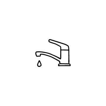 レバー水栓のアイコン