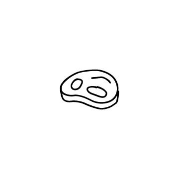 肉のアイコンのアイキャッチ用画像