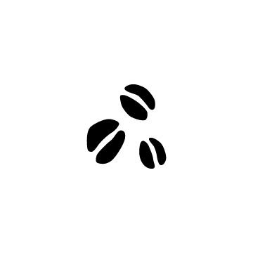 コーヒー豆のアイコン