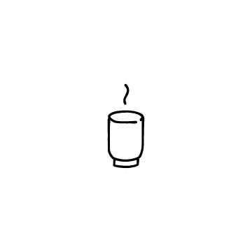 湯のみのアイコン
