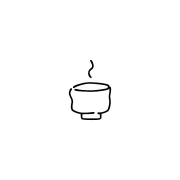 抹茶茶わんのアイコン