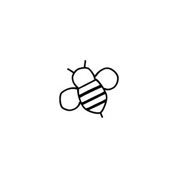 ハチのアイコン
