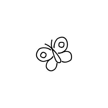 蝶のアイコン