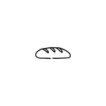 バゲットのアイコンのアイキャッチ用画像