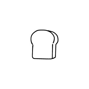 食パンのアイコンのアイキャッチ用画像