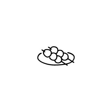 団子のアイコンのアイキャッチ用画像