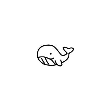 クジラのアイコン