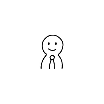 ビジネスマンのアイコンのアイキャッチ用画像