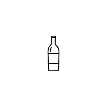 ワインボトルのアイコン