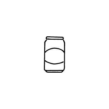 ドリンク缶のアイコン
