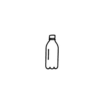 ペットボトルのアイコンのアイキャッチ用画像