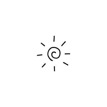ぐるぐるの太陽のアイコンのアイキャッチ用画像