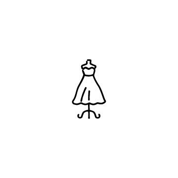 ドレスのアイコン
