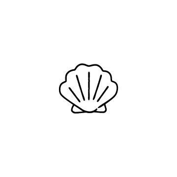 貝のアイコン