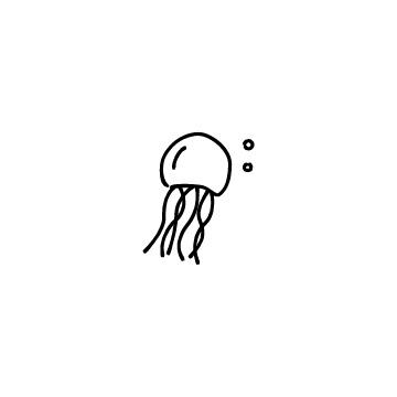 クラゲのアイコンのアイキャッチ用画像