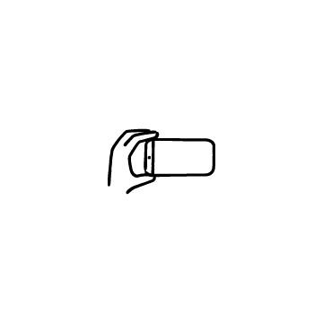 スマホと手のアイコンのアイキャッチ用画像