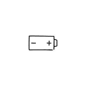 乾電池のアイコンのアイキャッチ用画像