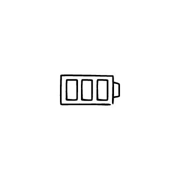 バッテリー残量のアイコンのアイキャッチ用画像