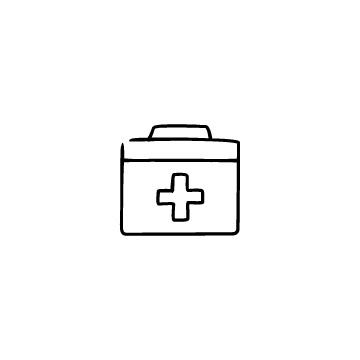 救急箱のアイコンのアイキャッチ用画像
