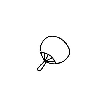 うちわのアイコンのアイキャッチ用画像