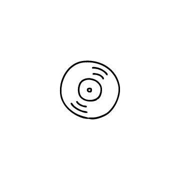 レコードのアイコンのアイキャッチ用画像