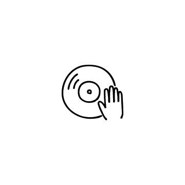 DJのアイコンのアイキャッチ用画像