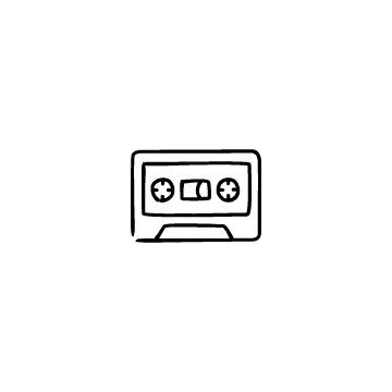 カセットテープのアイコン