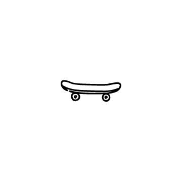スケートボードのアイコンのアイキャッチ用画像