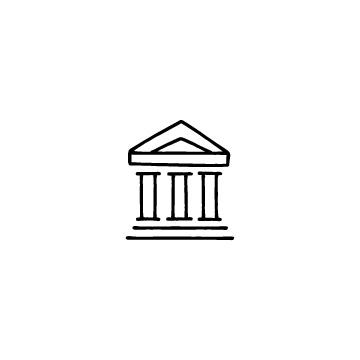 銀行のアイコン