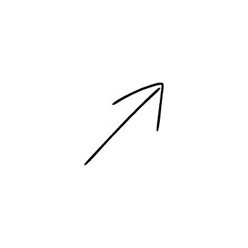 斜め右上矢印のアイコンのアイキャッチ用画像